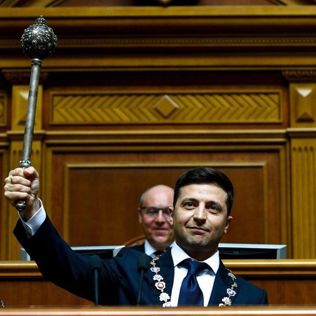 Володимир Зеленський став президентом України: реакція знаменитостей