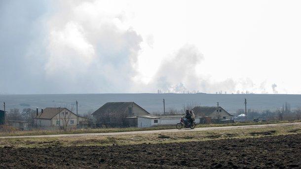 Пожежу в Балаклії вдалося загасити – заступник міністра оборони