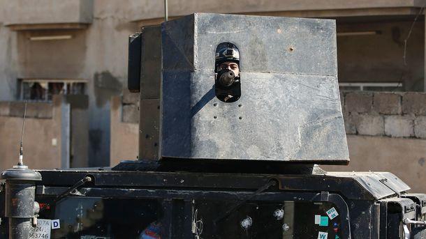 Іракська армія зупиняє зачистку заходу Мосула