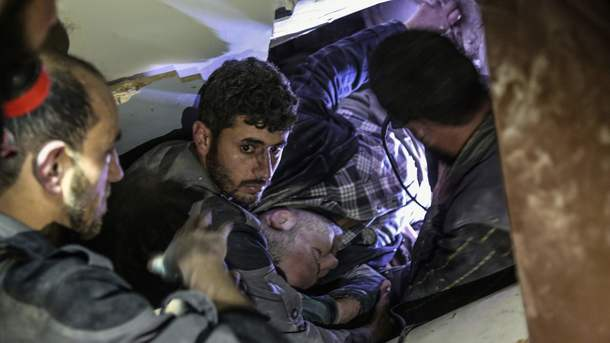 США визнають воєнним злочином хіматаку в Сирії, якщо ця інформація підтвердиться