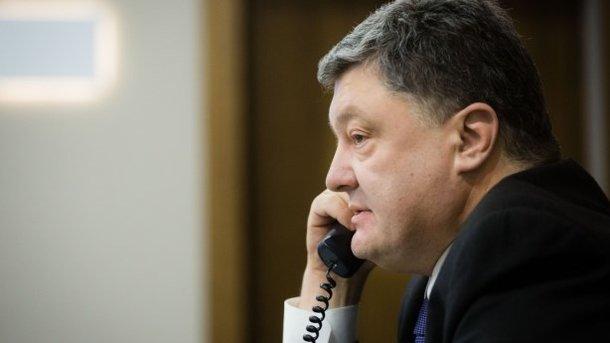 В.Путін і П.Порошенко поговорили потелефону
