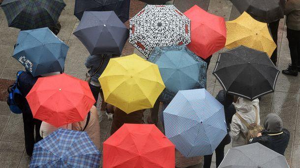 У суботу 29 квітня в країні буде тепло, але з опадами в деяких регіонах