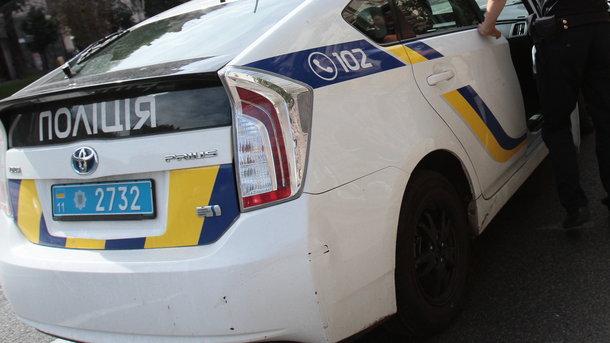 УЗапоріжжі автомобіль патрульної поліції збив жінку