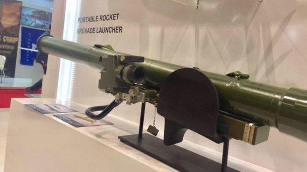 Навиставці Україна представила ручний реактивний гранатомет