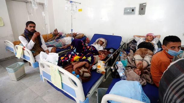 Надзвичайний стан оголосили через епідемію холери у Ємені