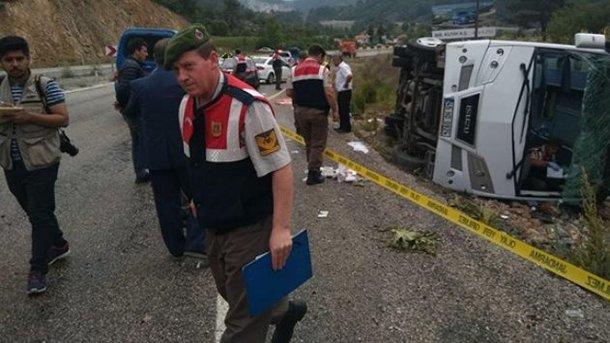 ВТуреччині розбився автобус зукраїнськими туристами, є постраждалі