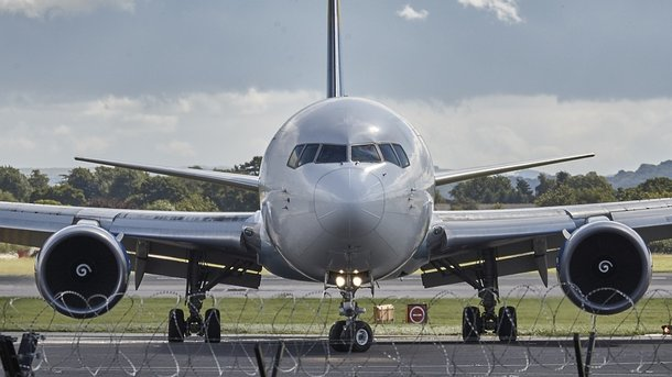 УЗапоріжжі літак МАУ під час посадки серйозно пошкодив шасі і фюзеляж