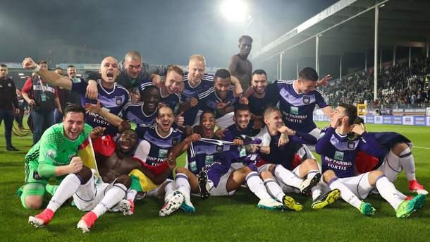 Теодорчик допоміг «Андерлехту» в34-й раз виграти чемпіонат Бельгії