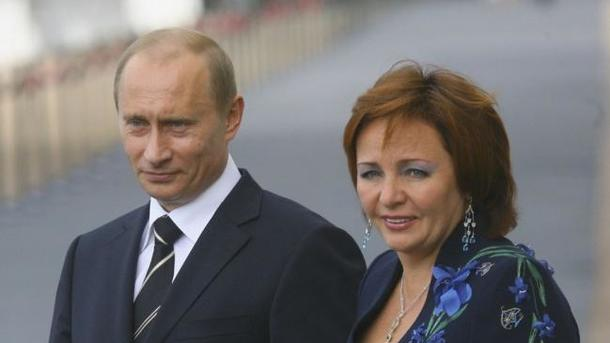 Путін зробив екс-дружину мультимільйонершою,— ЗМІ