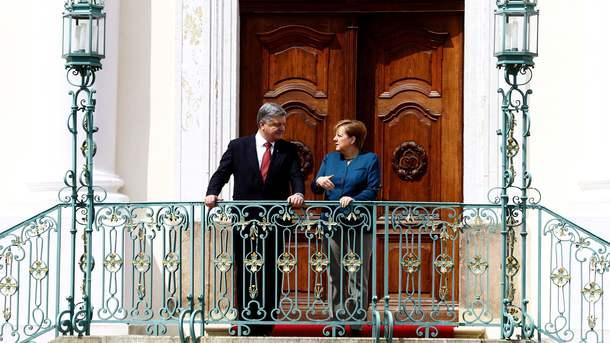 Порошенко розмовляв з Меркель більше двох годин