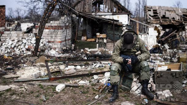У Донецьку терористів