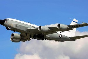 "<p style=""text-align: justify;"">Boeing RC-135W. Фото: Paul Callaghan</p>"