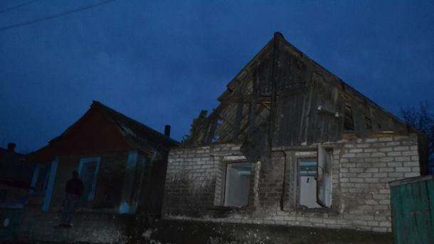 Урезультаті обстрілу Мар'їнки пошкоджено 20 будинків