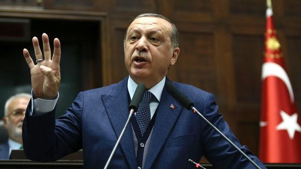 УСША видали ордери наарешт охоронців Ердогана