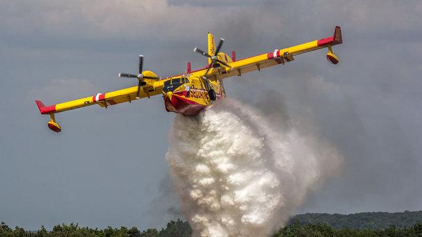 У Португалії розбився літак, який гасив пожежу