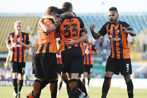 "<p style=""text-align: justify;"">""Ворскла"" - ""Шахтар"" - 0: 3. фото shakhtar.com</p>"