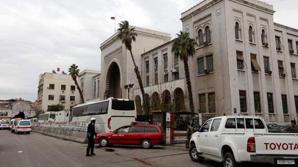УСирії з мінометів обстріляли посольство Росії
