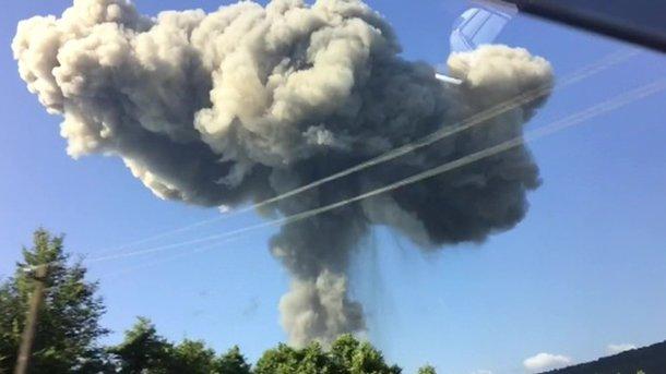 Вибухи боєприпасів вАбхазії: постраждалих неменше 20