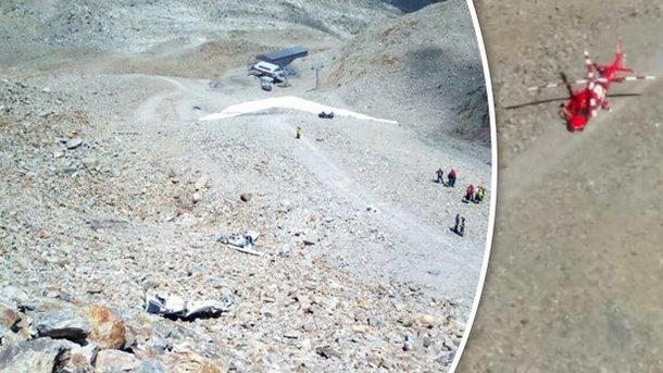 УШвейцарії літак впав на літній табір, загинули двоє підлітків і пілот