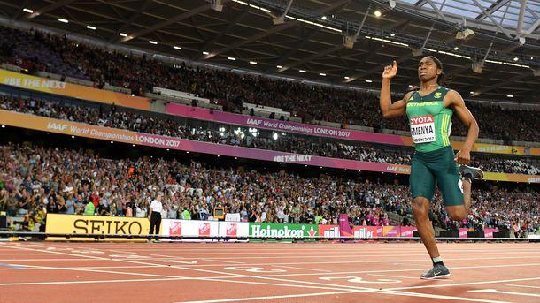 Кастер Семеня стала чемпіонкою світу з бігу на 800 метрів