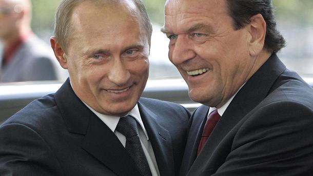 Висунення екс-канцлера Німеччини Шредера в керівництво