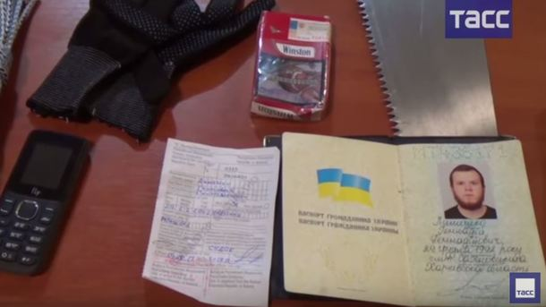 Російські ЗМІ: Затриманий вокупованому Криму «диверсант» визнав провину