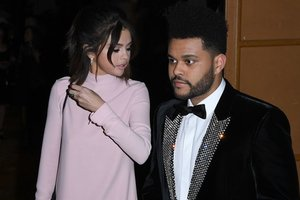 "<p style=""text-align: justify;"">Селена Гомес і The Weeknd. Фото: AFP</p>"