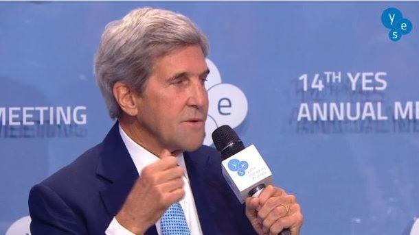 Керрі на форумі YES в Києві різко висловився про анексію Криму Росією