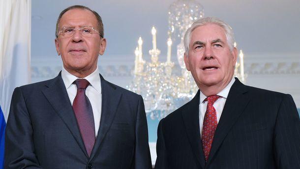 Відбулася телефонна розмова Лаврова і Тіллерсона: говорили про Україну та Сирію