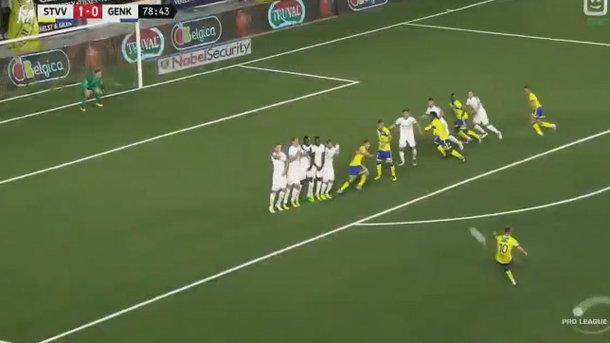 Роман Безус забив красивий гол у чемпіонаті Бельгії