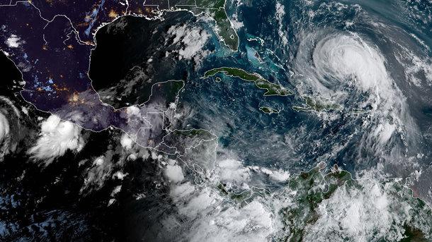 ВАтлантиці сформувався тропічний шторм «Марія»