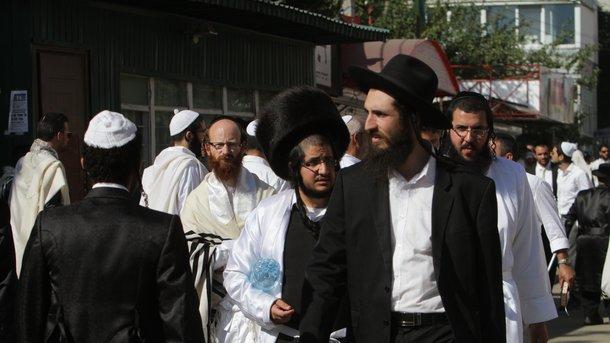 Єврейський новий рік: видовищне відео зУмані