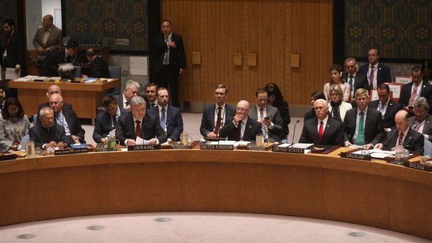 Україна потребує якнайшвидшого введення миротворців наДонбас— Порошенко