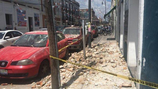 УМексиці новий землетрус— уже другий затиждень