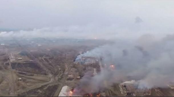 Вибухи вКалинівці: вПорошенка повідомили про вцілілі сховища боєприпасів
