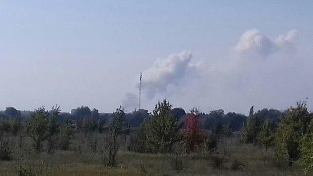 Літаки ДСНС здійснили 30 скидів води наосередки пожежі вКалинівці