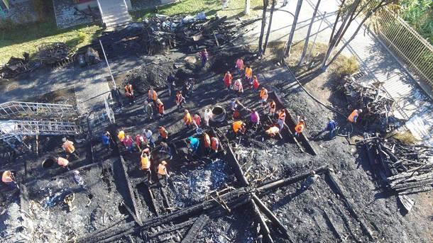 Колишній одеській чиновниці вручили підозру запожежу у«Вікторії»