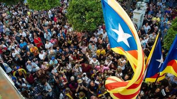 Король Іспанії невизнав референдум уКаталонії, назвавши його незаконним