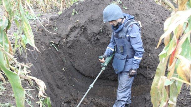 Поблизу Калинівки вилучено 998 вибухонебезпечних предметів