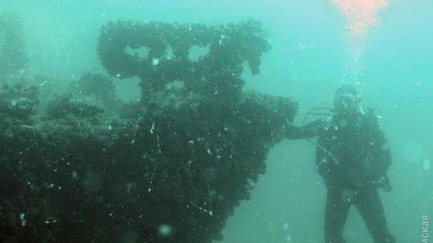 ВОдеській області розміновують німецьке підводне судно