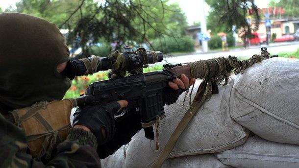 Снайпер бойовиків підстрелив українського прикордонника на Донбасі