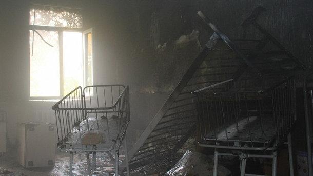 В окупованому Донецьку горів пологовий будинок