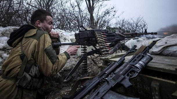 На приморському напрямку бойовики б'ють з гранатометів і великокаліберних кулеметів - штаб АТО