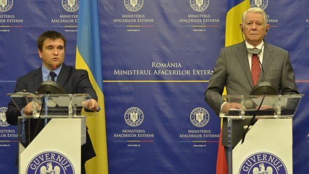 Клімкін в Бухаресті: про що говорив міністр з румунським колегою