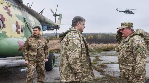 Президент анонсував ротацію підрозділів вАТО