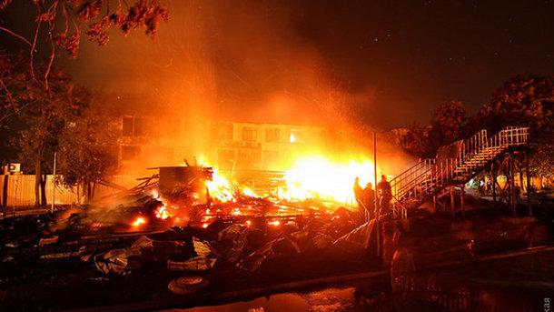 Пожежа в«Вікторії»: прокурори повідомили про підозру чиновнику ДСНС