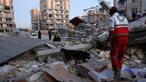 Число загиблих в Ірані від землетрусу зросло до 445 осіб
