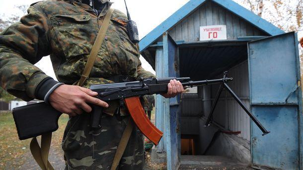 Бойовики завдали шкоди військовим на Донбасі