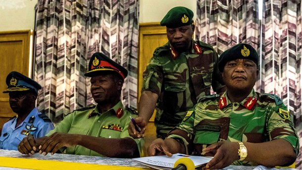 Держпереворот в Зімбабве: військові заявили про захоплення влади