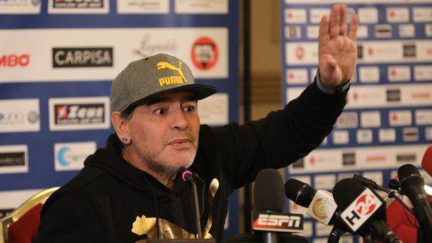 Дієго Марадона хоче стати головним тренером збірної Аргентини